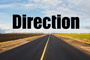 Direction Font By da_only_aan