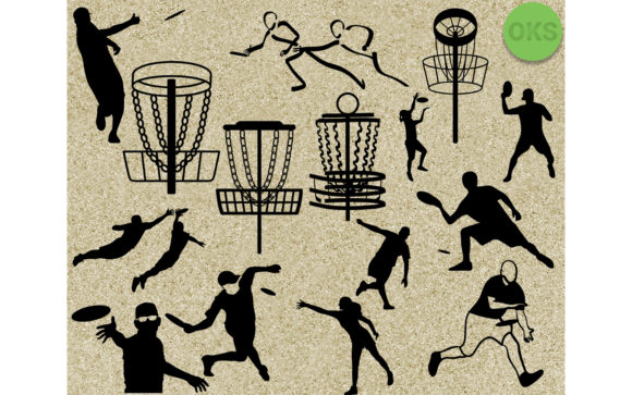Download Free Disc Golf Frisbee Svg Vector Clipart Graphic By Crafteroks for Cricut Explore, Silhouette and other cutting machines.