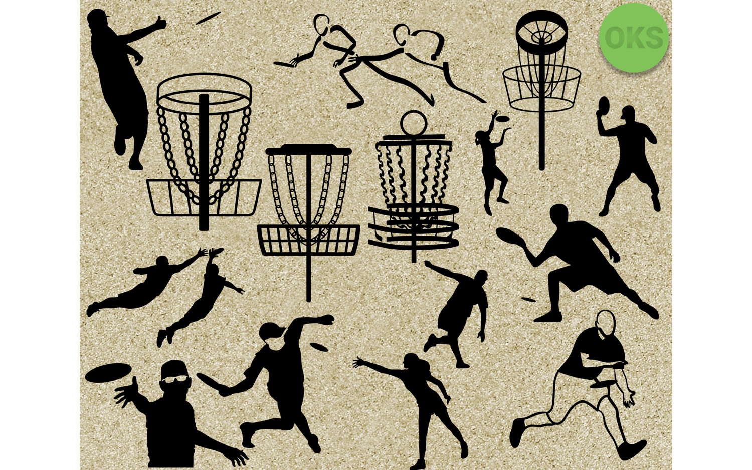 Download Free Disc Golf Frisbee Svg Vector Clipart Grafik Von Crafteroks for Cricut Explore, Silhouette and other cutting machines.