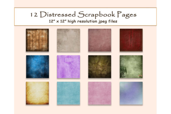 Distressed Digital Paper Texture 12