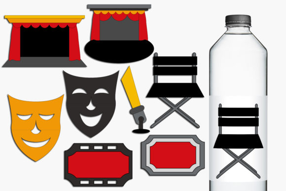 Print on Demand: Drama Theater Graphic Illustrations By Revidevi