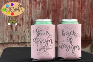 Dusty Rose Can Cooler Mockup Graphic Product Mockups By 616SVG