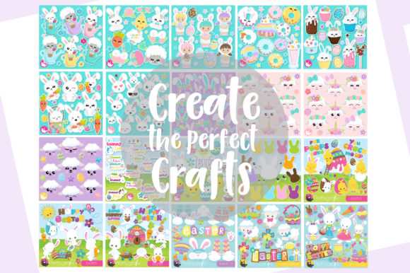 Print on Demand: EASTER Mega Bundle - 500 in 1 Graphic Illustrations By Prettygrafik - Image 2
