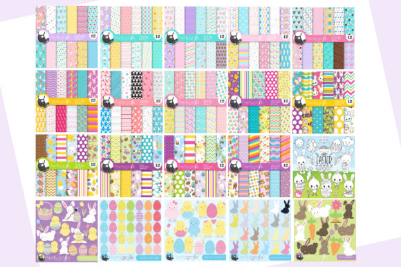 Print on Demand: EASTER Mega Bundle - 500 in 1 Graphic Illustrations By Prettygrafik - Image 3