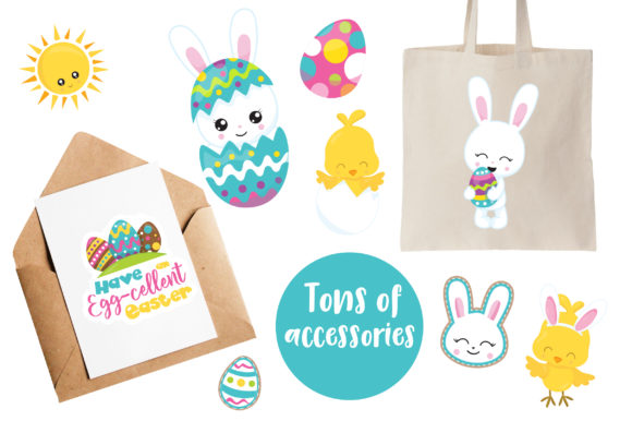 Print on Demand: EASTER Mega Bundle - 500 in 1 Graphic Illustrations By Prettygrafik - Image 4