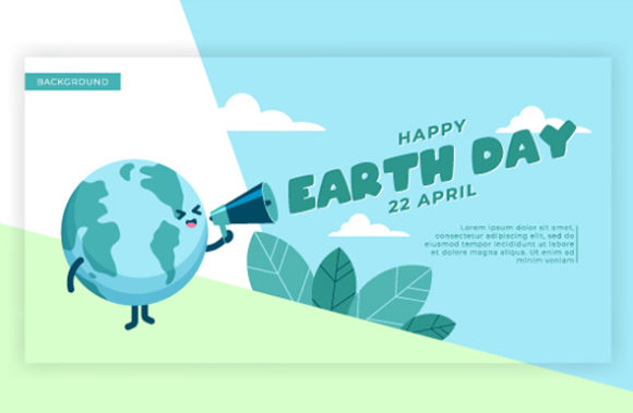 Download Free Earth Day Background Concept Graphic By Rawtwo Std Creative for Cricut Explore, Silhouette and other cutting machines.
