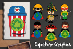 Earth Day Superhero Graphic By Revidevi
