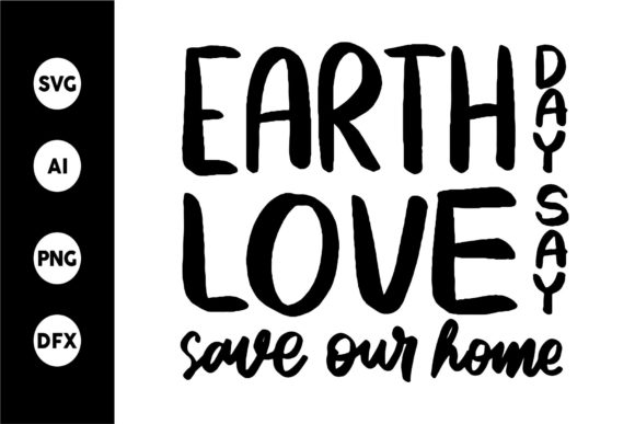 Print on Demand: Earth Love Days Graphic Crafts By goodjavastudio
