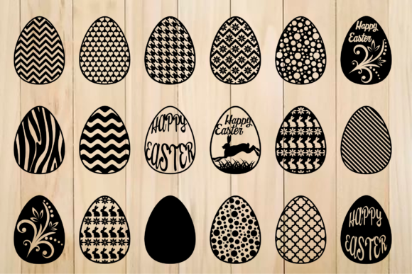 Print on Demand: Easter Egg Graphic Crafts By yulnniya