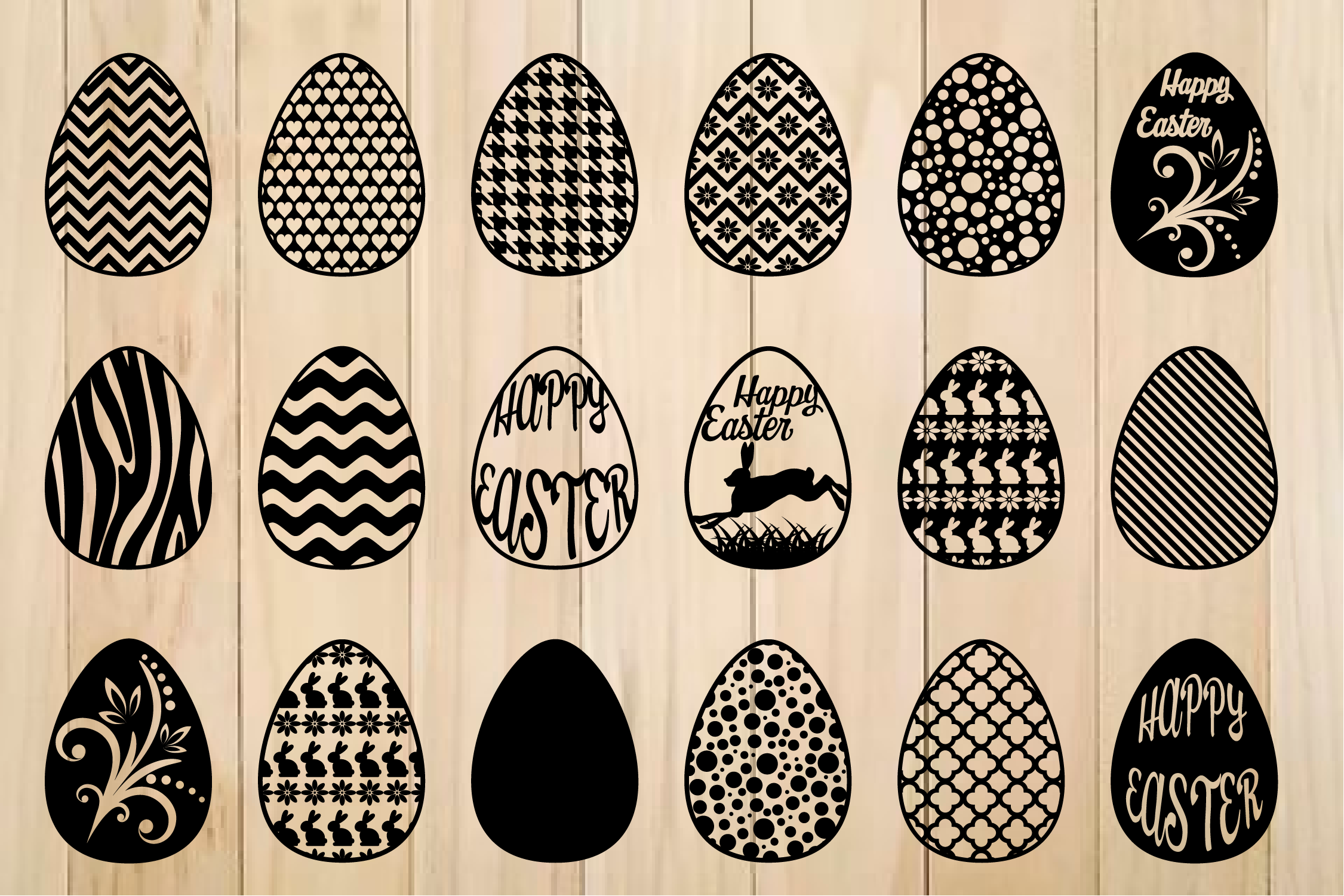 Download Free Easter Egg Svg Graphic By Yulnniya Creative Fabrica for Cricut Explore, Silhouette and other cutting machines.