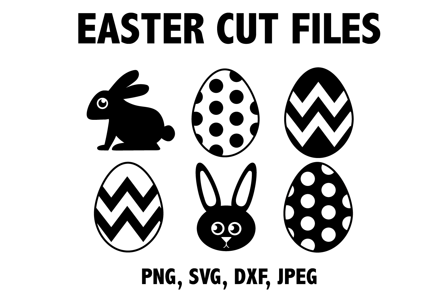 Download Free Easter Icons Graphic By Mine Eyes Design Creative Fabrica for Cricut Explore, Silhouette and other cutting machines.