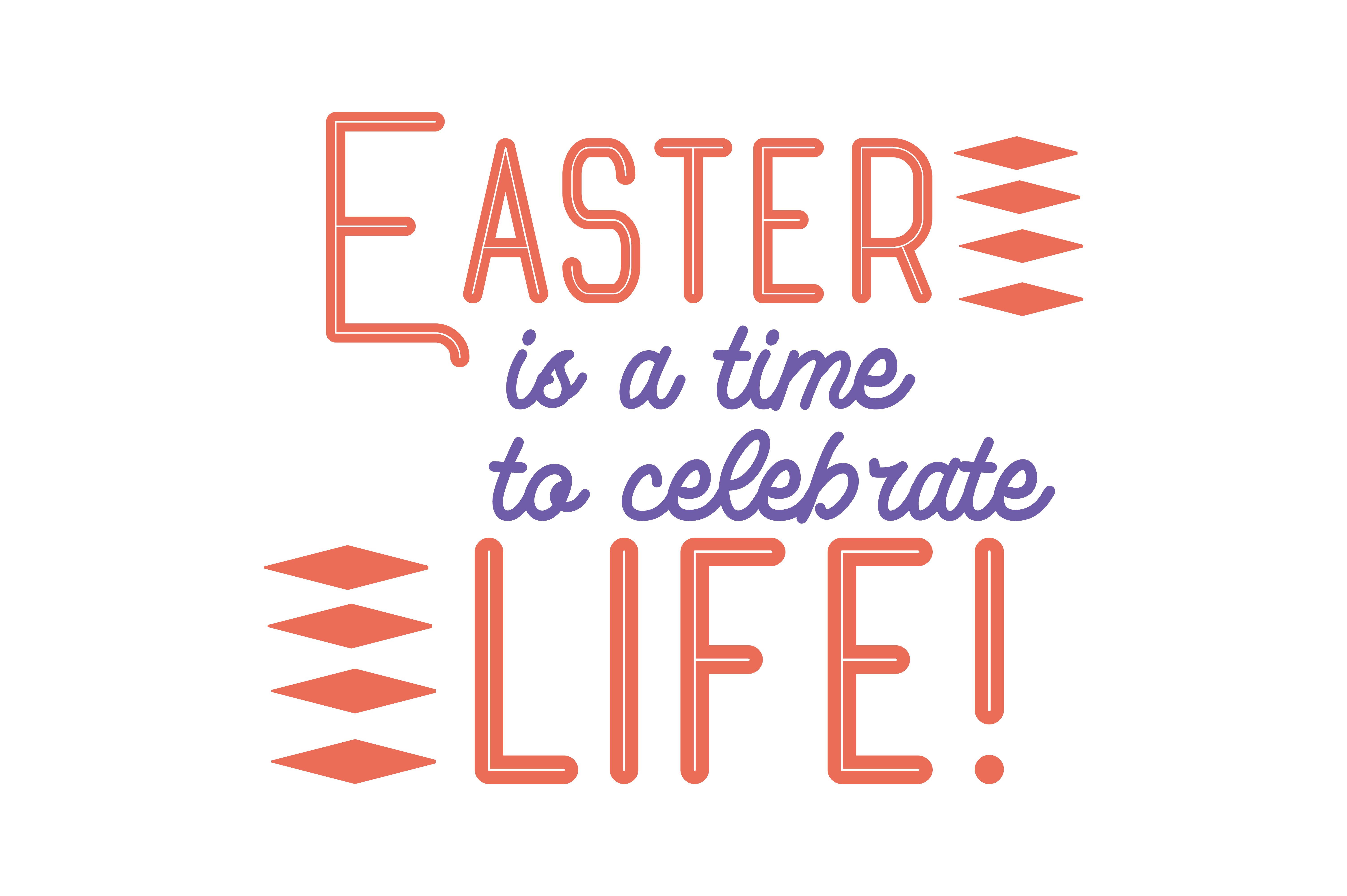 Download Free Easter Is A Time To Celebrate Life Quote Svg Cut Graphic By for Cricut Explore, Silhouette and other cutting machines.