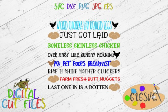 Download Free Egg Container Quotes Svg Graphic By 616svg Creative Fabrica for Cricut Explore, Silhouette and other cutting machines.