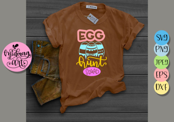 Egg Hunt Squad Svg Graphic Objects By MidmagArt