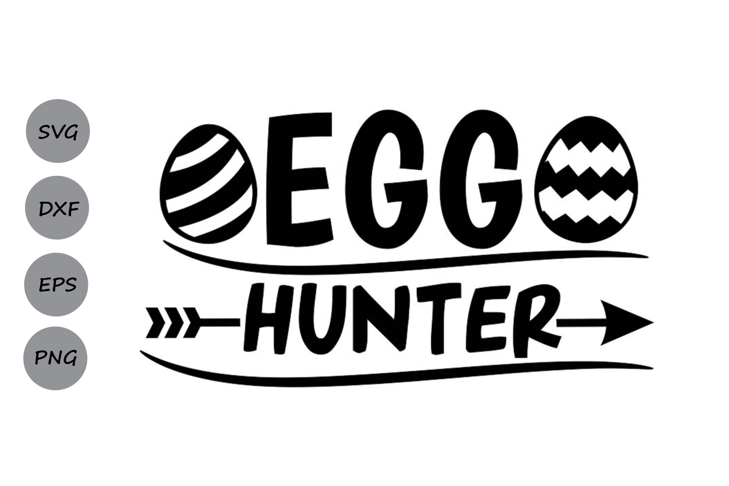 Download Free Egg Hunter Svg Graphic By Cosmosfineart Creative Fabrica for Cricut Explore, Silhouette and other cutting machines.
