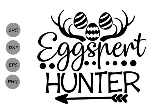 Download Free Eggspert Hunter Svg Graphic By Cosmosfineart Creative Fabrica for Cricut Explore, Silhouette and other cutting machines.