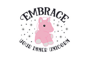 Embrace Your Inner Unicorn Craft Design By Creative Fabrica Crafts