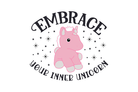 Download Free Embrace Your Inner Unicorn Svg Cut File By Creative Fabrica for Cricut Explore, Silhouette and other cutting machines.