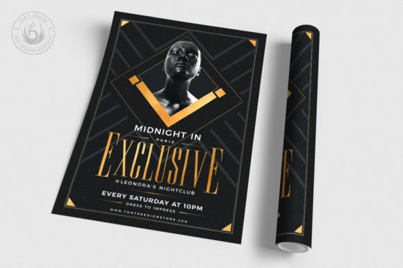 Exclusive Party Flyer Template Graphic By ThatsDesignStore Image 3