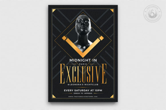 Exclusive Party Flyer Template Graphic By ThatsDesignStore