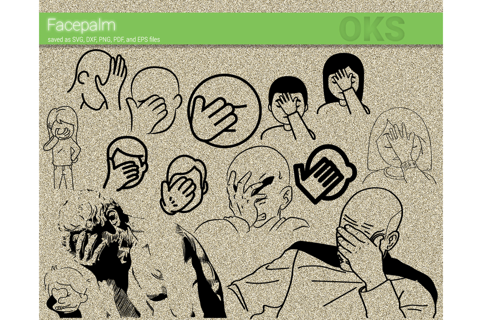 Facepalm Vector Graphic By Crafteroks Creative Fabrica