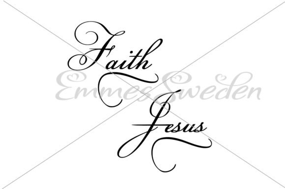 Download Free Faith Cross Svg Jesus Cross Svg Graphic By Emmessweden for Cricut Explore, Silhouette and other cutting machines.