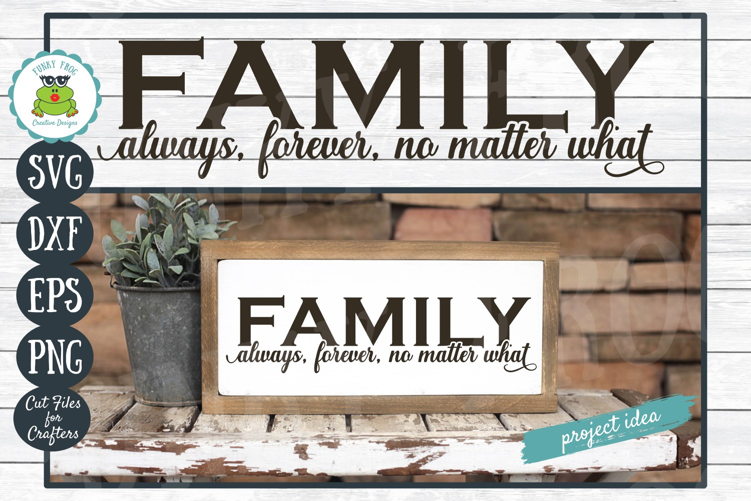 Download Free Family Always Forever No Matter What Graphic By for Cricut Explore, Silhouette and other cutting machines.