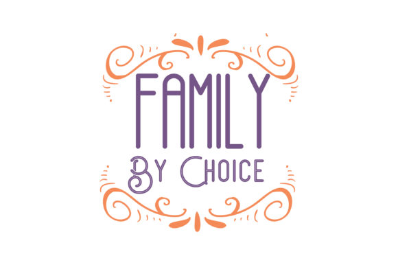 Download Free Family By Choice Adoption Design Quote Svg Cut Graphic By for Cricut Explore, Silhouette and other cutting machines.