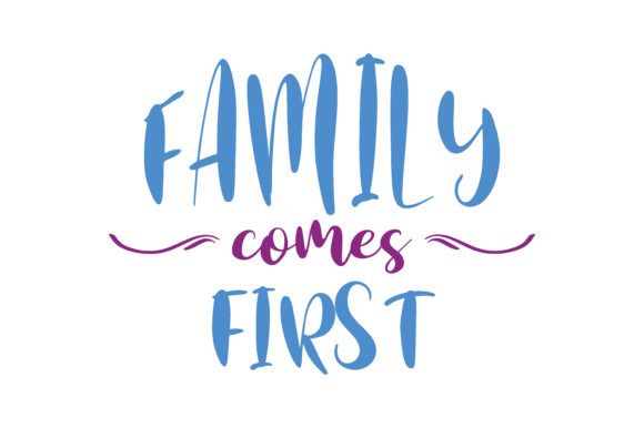 Download Free Family Comes First Quote Svg Cut Graphic By Thelucky Creative for Cricut Explore, Silhouette and other cutting machines.