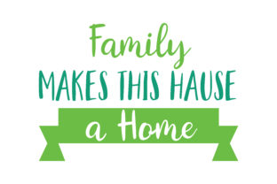 Download Free Family Makes This Hause A Home Quote Svg Cut Graphic By Thelucky for Cricut Explore, Silhouette and other cutting machines.
