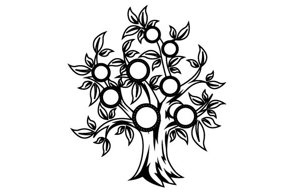 Download Free Family Tree Svg Cut File By Creative Fabrica Crafts Creative for Cricut Explore, Silhouette and other cutting machines.