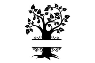 Family Tree Monogram Family Craft Cut File By Creative Fabrica Crafts