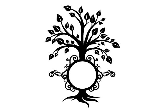 Download Free Family Tree Monogram Svg Cut File By Creative Fabrica Crafts for Cricut Explore, Silhouette and other cutting machines.