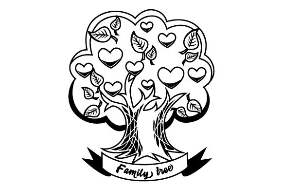 Download Free Family Tree With A Lot Of Roots Svg Cut File By Creative Fabrica for Cricut Explore, Silhouette and other cutting machines.