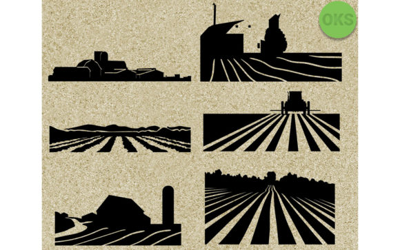 Download Free Farm Bundle Graphic By Crafteroks Creative Fabrica for Cricut Explore, Silhouette and other cutting machines.