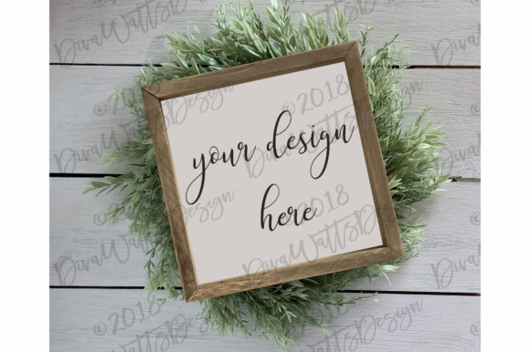 Farmhouse Sign Mockup Mock Up Graphic By Diva Watts Designs