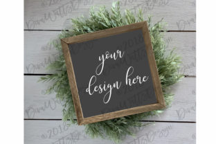 Farmhouse Style Sign Mockup Graphic Product Mockups By Diva Watts Designs