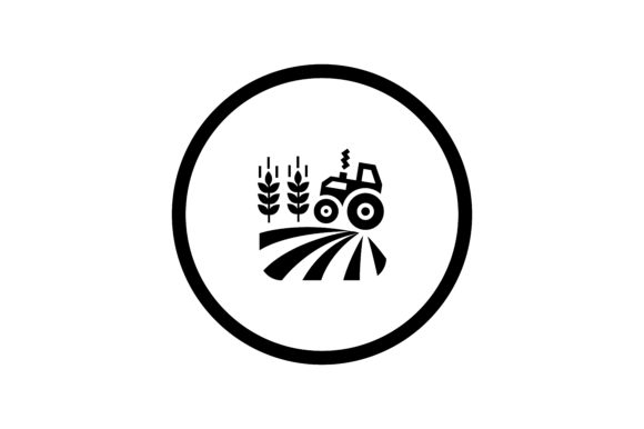 Download Free Farming Truck Icon Graphic By Zafreeloicon Creative Fabrica for Cricut Explore, Silhouette and other cutting machines.