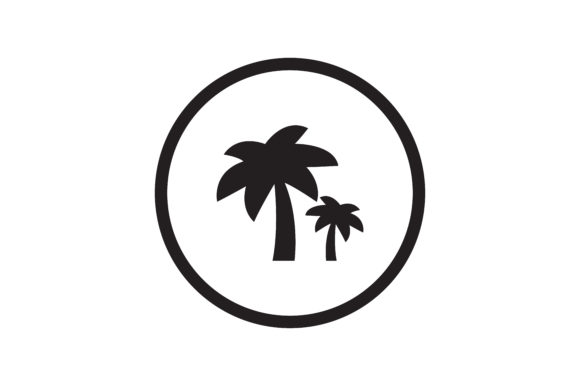 Download Free Farming Palm Trees Icon Graphic By Zafreeloicon Creative Fabrica for Cricut Explore, Silhouette and other cutting machines.