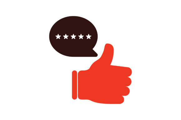 Print on Demand: Feedback Thumbs Up Graphic Icons By TheDesignerBD