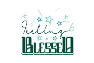 Download Free Feelling Blessed Quote Svg Cut Graphic By Yuhana Purwanti for Cricut Explore, Silhouette and other cutting machines.