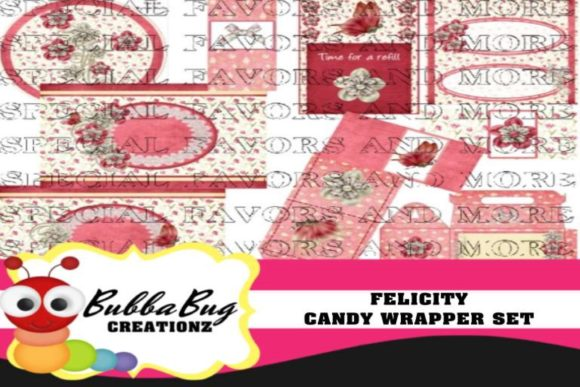 Felicity Candy Wrapper Set Graphic