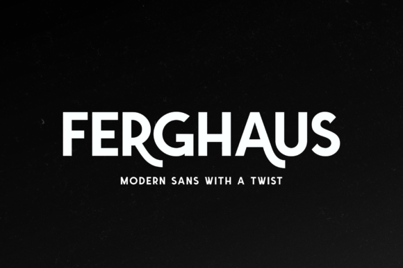 Print on Demand: Ferghaus Display Font By Fontdation