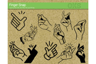 Download Free Finger Snap Vector Graphic By Crafteroks Creative Fabrica for Cricut Explore, Silhouette and other cutting machines.
