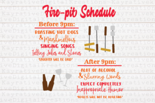 Download Free Fire Pit Bonfire Graphic By Kayla Griffin Creative Fabrica for Cricut Explore, Silhouette and other cutting machines.