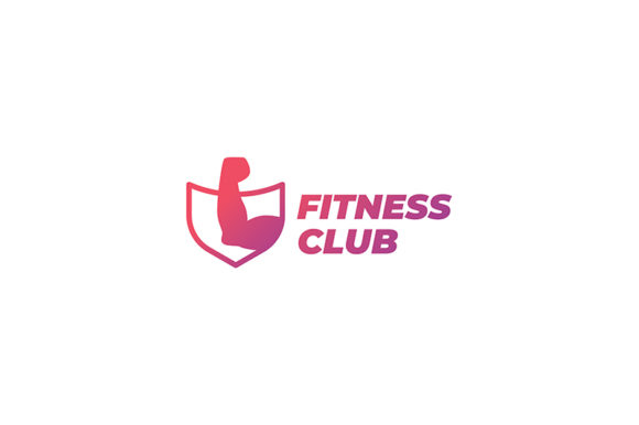 Download Free Fitness Center Logo Graphic By Aam360 Creative Fabrica for Cricut Explore, Silhouette and other cutting machines.