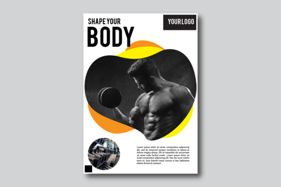 Fitness Flyer Graphic By nirmala.graphics