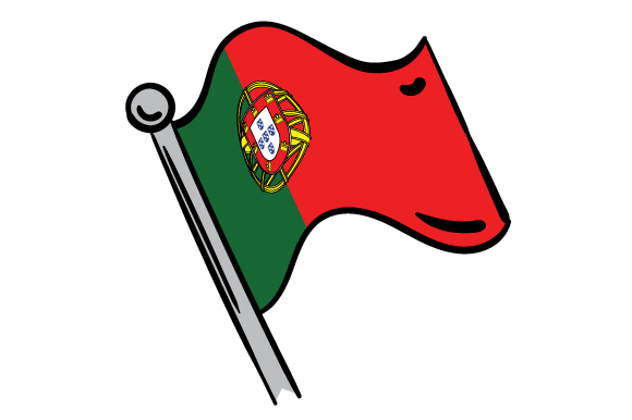 Download Free Flag Of Portugal Archivos De Corte Svg Por Creative Fabrica for Cricut Explore, Silhouette and other cutting machines.