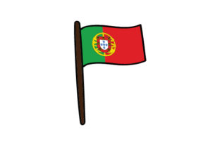 Flag of Portugal Craft Design By Creative Fabrica Crafts