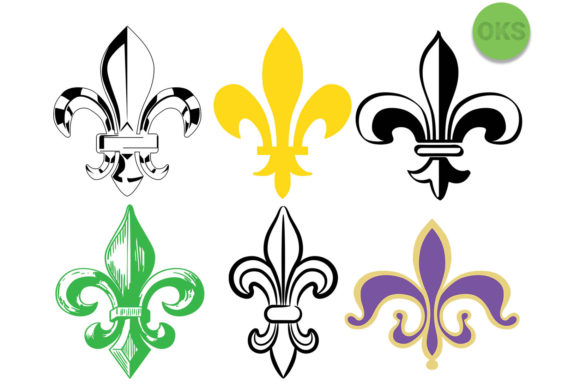 Download Free Fleur De Lis Svg Vector Graphic By Crafteroks Creative Fabrica for Cricut Explore, Silhouette and other cutting machines.